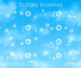 Bubble light halo Photoshop Brushes