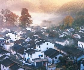 Chinese town of Huizhou Stock Photo