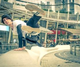 City cool run Stock Photo 08