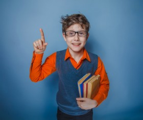 Clever Boy Stock Photo 01