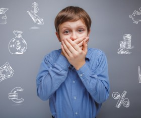 Clever Boy Stock Photo 05