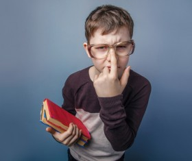 Clever Boy Stock Photo 08