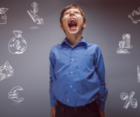 Clever Boy Stock Photo 10
