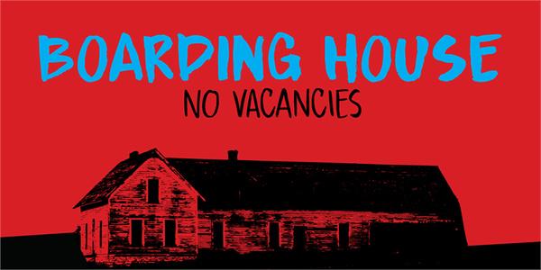 DK Boarding House I fonts