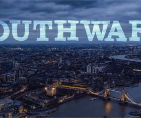 DK Southwark font