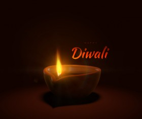 Diwali creative background vector 01