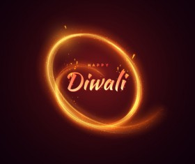 Diwali creative background vector 04