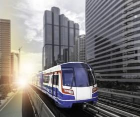 Express train Stock Photo 02