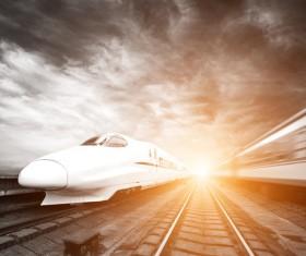 Express train Stock Photo 03