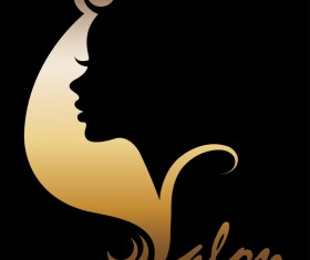 Fashion women sign with logo vectors set 05
