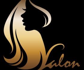 Fashion women sign with logo vectors set 06