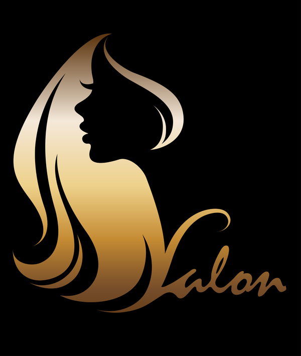 Fashion women sign with logo vectors set 06