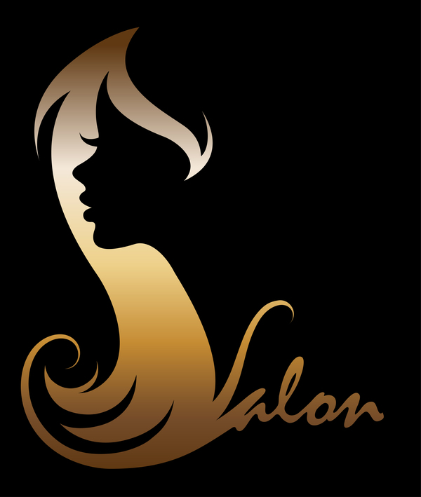 Fashion women sign with logo vectors set 07