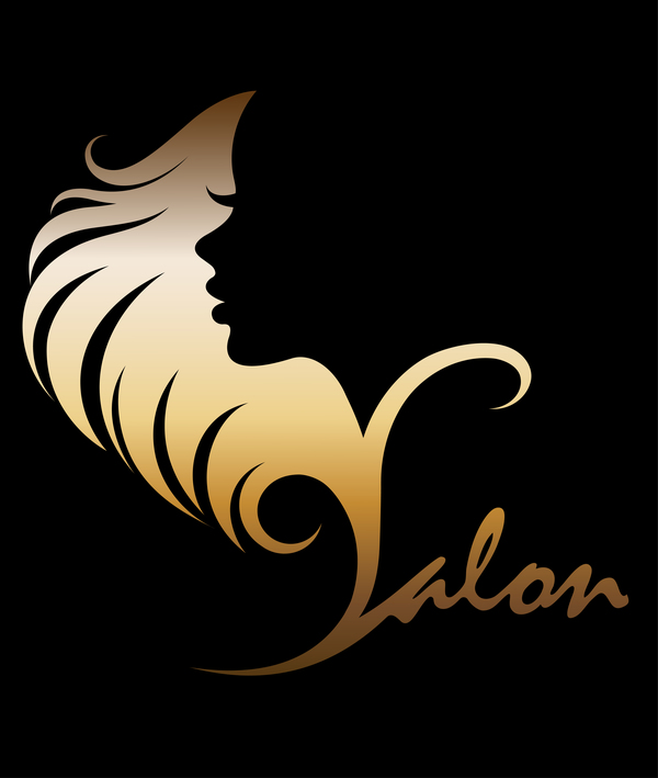 Fashion women sign with logo vectors set 08