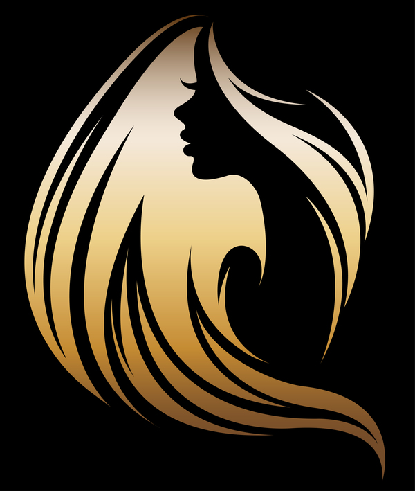 Fashion women sign with logo vectors set 10