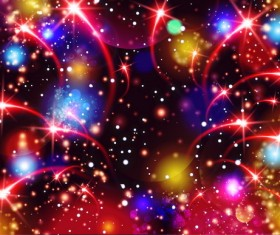 Festival firework with star background vectors