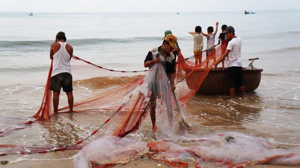 Fishing fishermen Stock Photo