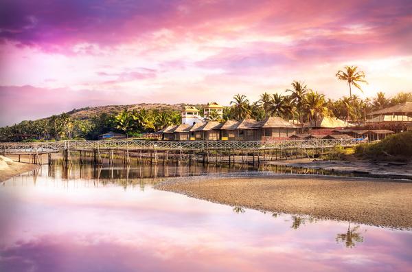 Goa Island Beach Beautiful Landscape Stock Photo 08 Free Download