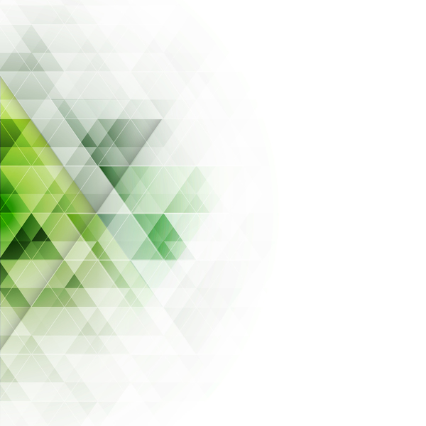 Green Art Background Abstract Vector