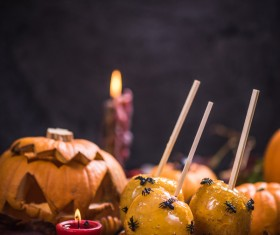 Halloween toffee apple Stock Photo 10