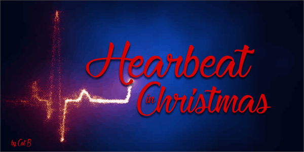 Heartbeat Christmas Font