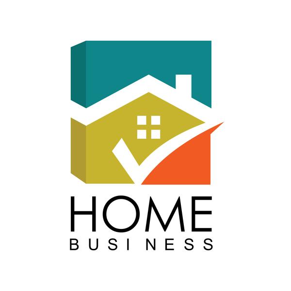 Home business logo vector