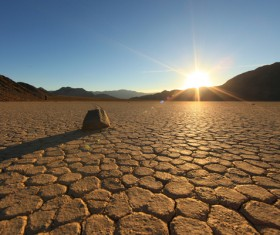 Hot Desert Stock Photo 06