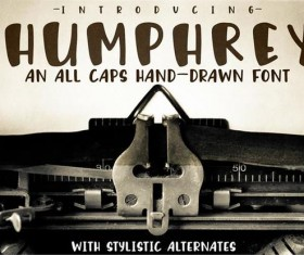 Humphrey fonts