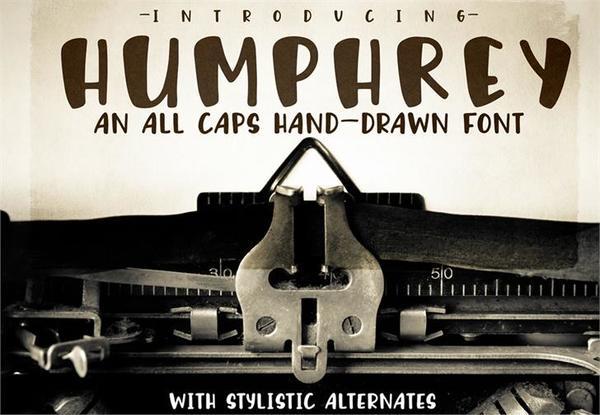 Humphrey fonts