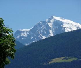 Italy Mesnar Mountains Stock Photo