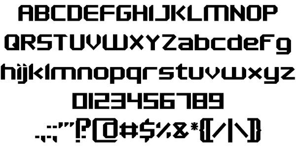 Maken fonts