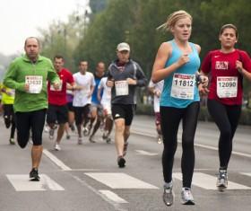 Marathon race Stock Photo 04