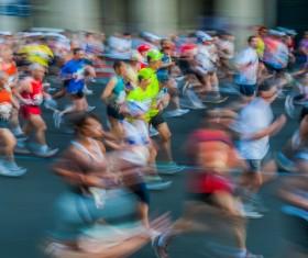 Marathon race Stock Photo 05