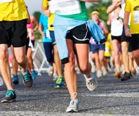 Marathon race Stock Photo 06