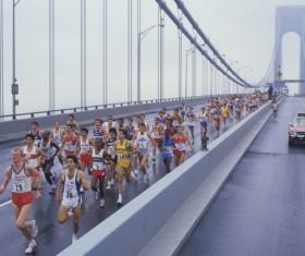 Marathon race Stock Photo 10