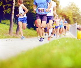 Marathon race Stock Photo 12