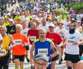 Marathon race Stock Photo 13
