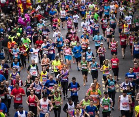 Marathon race Stock Photo 17