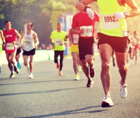 Marathon race Stock Photo 18