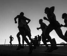 Marathon race Stock Photo 21