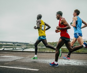 Marathon race Stock Photo 24