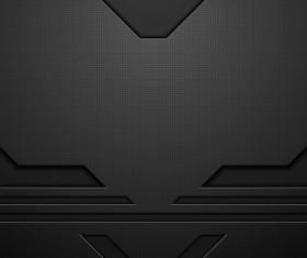 Media black concept vector