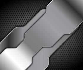 Metal perf background vector material