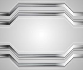 Metal stripes background design vector