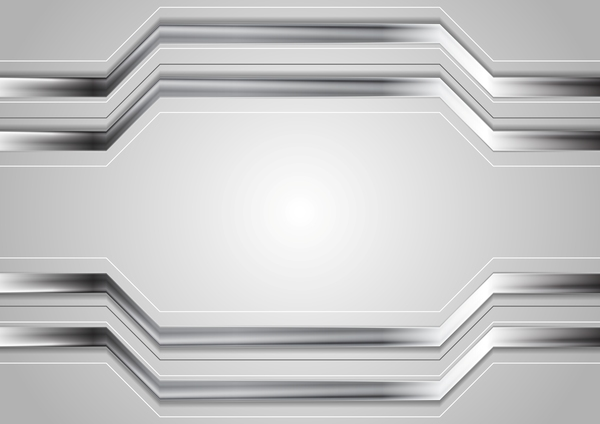 Metal stripes background design vector