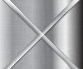 Metal stripes vector background