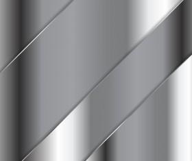 Metallic background template vector