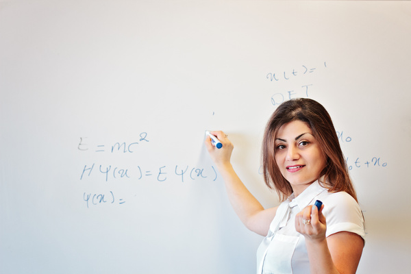 Middle aged female lecturer Stock Photo 01