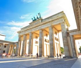 Munich Arc de Triomphe Stock Photo
