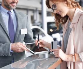 Payment by Credit Card Stock Photo 01